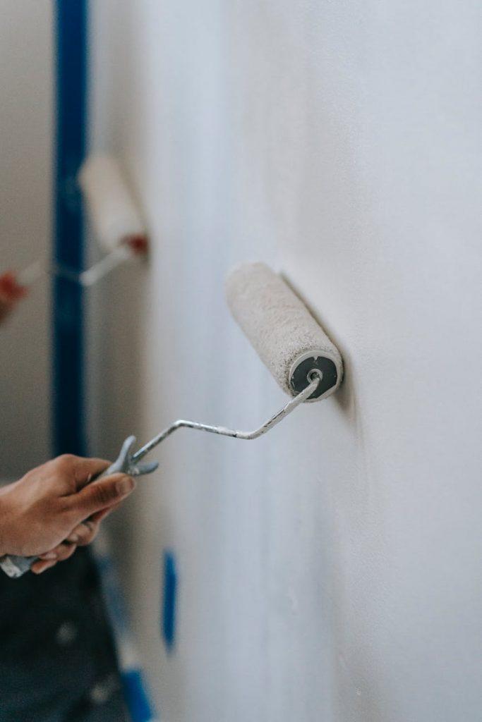 défiscalisation travaux peinture rouleau