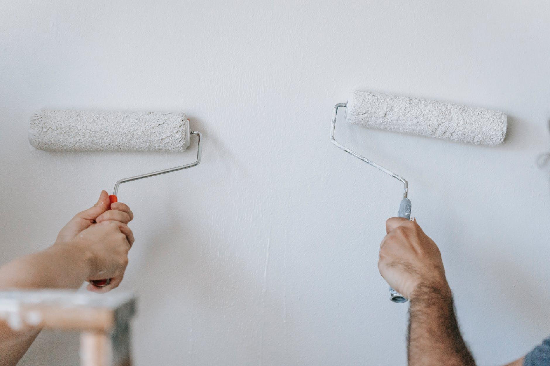 défiscalisation travaux peinture rouleaux
