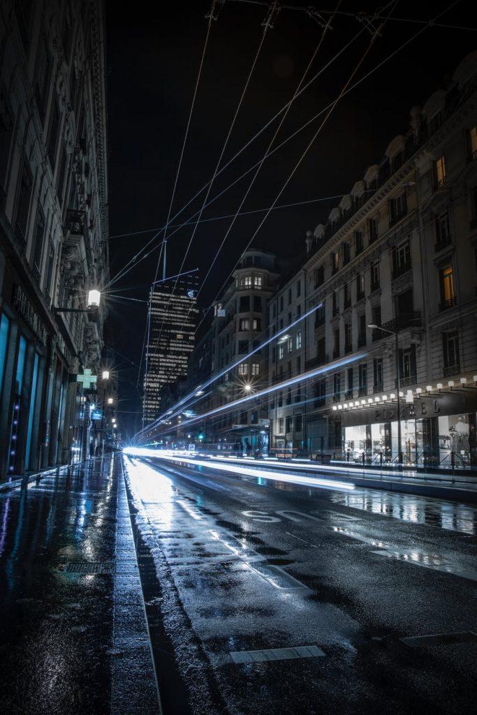 appartement de luxe lyon tramway nuit