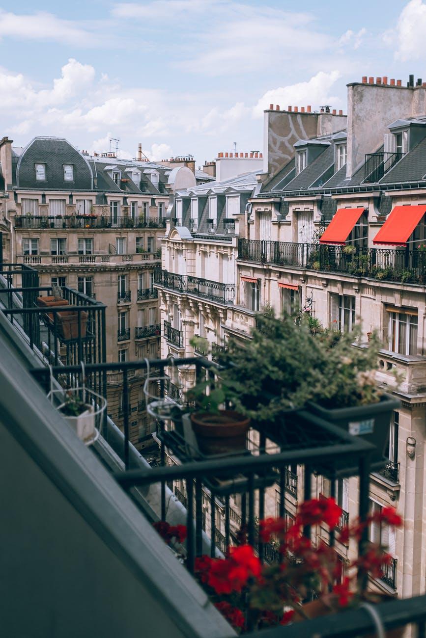 marché immobilier paris rues toits