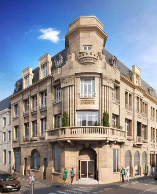 immobilier amiens immeuble ancien de charme terrasse