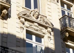 programme immobilier-façade immeuble ancien